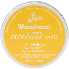 Woohoo Body Mellow Travel Size Deodorant Paste 40g - The Vegan Town