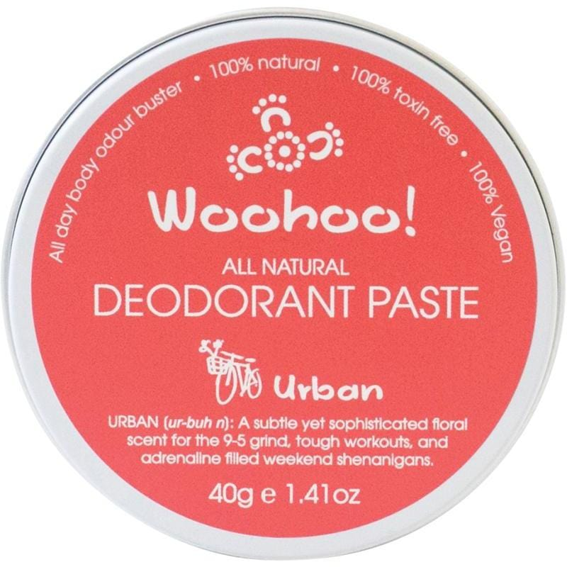 Woohoo Body Urban Travel Size Deodorant Paste 40g - The Vegan Town