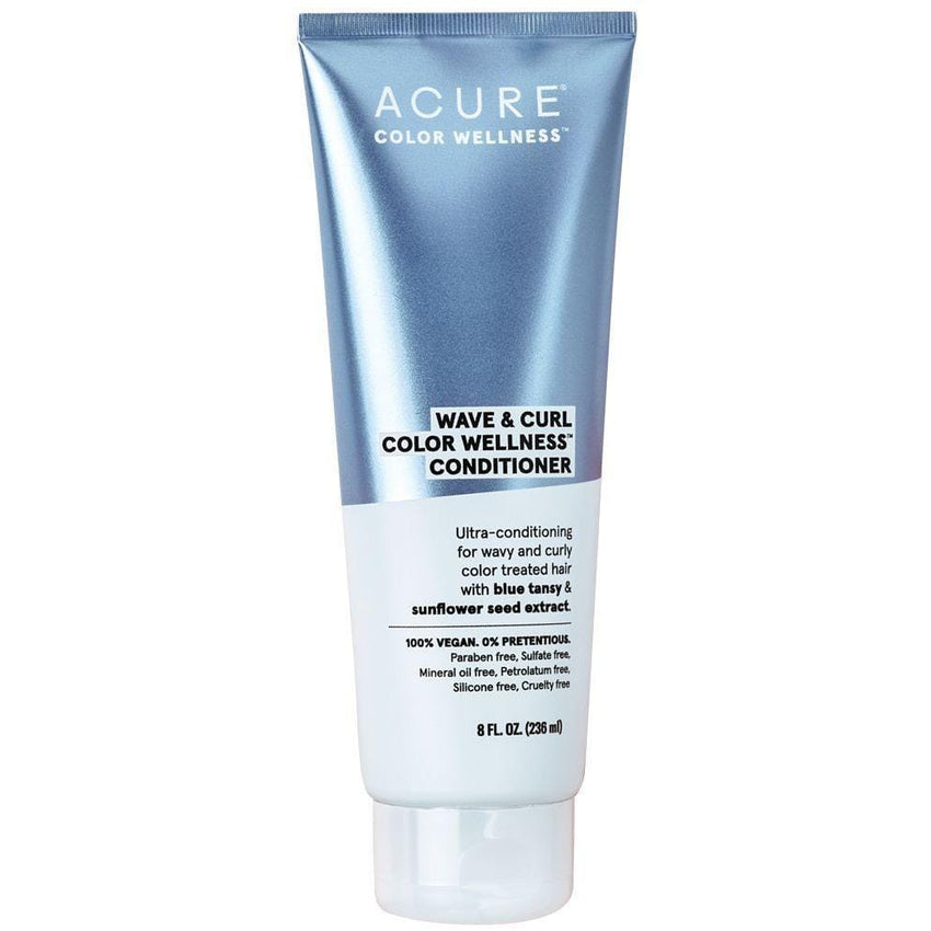 Acure Wave & Curl Colour Wellness Conditioner 236ml - vegan hair products
