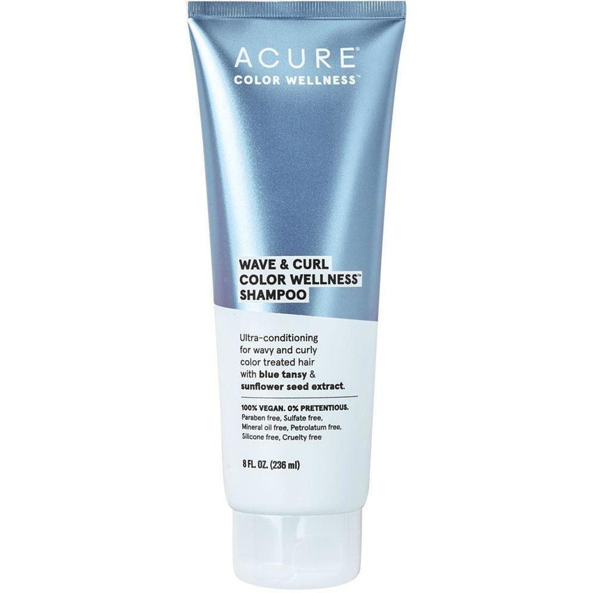 Acure Wave & Curl Colour Wellness Shampoo 236ml - vegan hair products