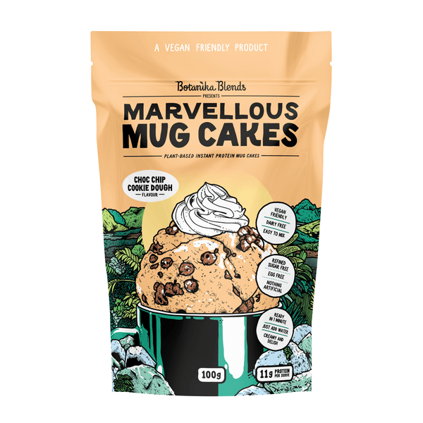 Botanika Blends Marvellous Mug Cakes Choc Chip Cookie Dough 100g