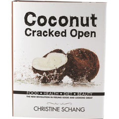 Coconut Cracked Open by Christine Schang - The Vegan Town