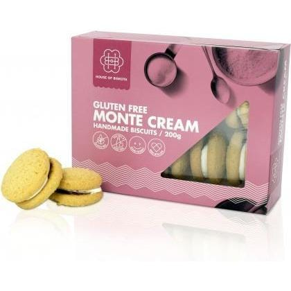 House of Biskota Gluten Free Monte Cream Biscuits 200g