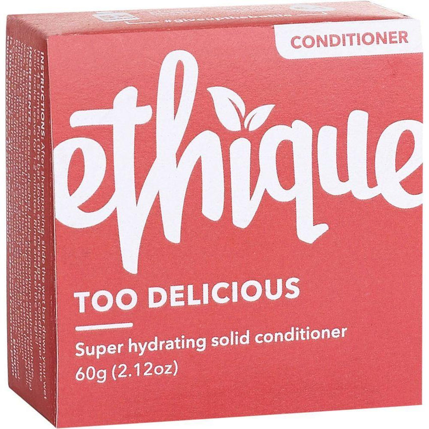 Ethique Solid Conditioner Bar Too Delicious - Super Hydrating 60g - The Vegan Town