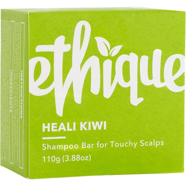 Ethique Solid Shampoo Bar Heali Kiwi - For Touchy Scalps 110g - The Vegan Town