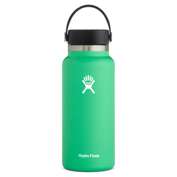 Wide Mouth Bottle - Flex Cap Double Insulated 964ml Green | Eco Products Online | Online Vegan Store