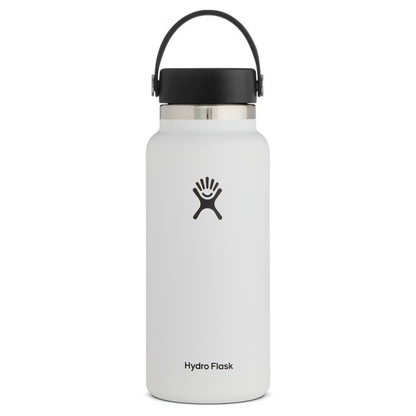 Wide Mouth Bottle - Flex Cap Double Insulated 964ml White | Eco Products Online | Online Vegan Store