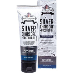 My Magic Mud Silver Charcoal Toothpaste With Coconut Oil - Peppermint 113g - The Vegan Town