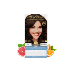 4N Natural Medium Brown Permanent Hair Dye | Vegan Hair Dye | Vegan Online - The Vegan Town