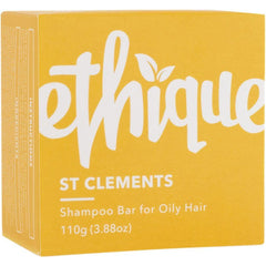 Ethique Solid Shampoo Bar St Clements - Oily Hair 110g - The Vegan Town