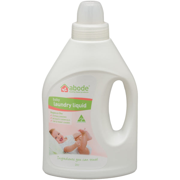 Abode Baby Laundry Liquid (1 litre) - The Vegan Town