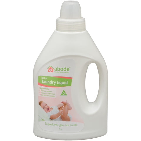 Abode Baby Laundry Liquid (1 litre) - vegan products online