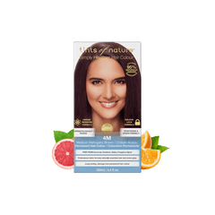 4M Medium Mahogany Brown Permanent Hair Dye | Vegan Hair Dye | Vegan Beauty Online - The Vegan Town
