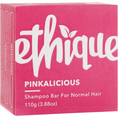 Ethique Solid Shampoo Bar Pinkalicious - Normal Hair 110g - The Vegan Town