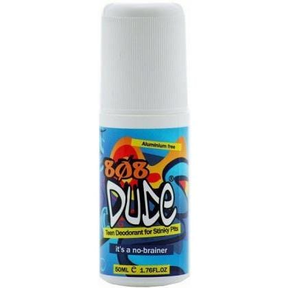808 Dude Teen Deodorant for Stinky Pits Roll On 50ml Single Bottle | Online Vegan Store