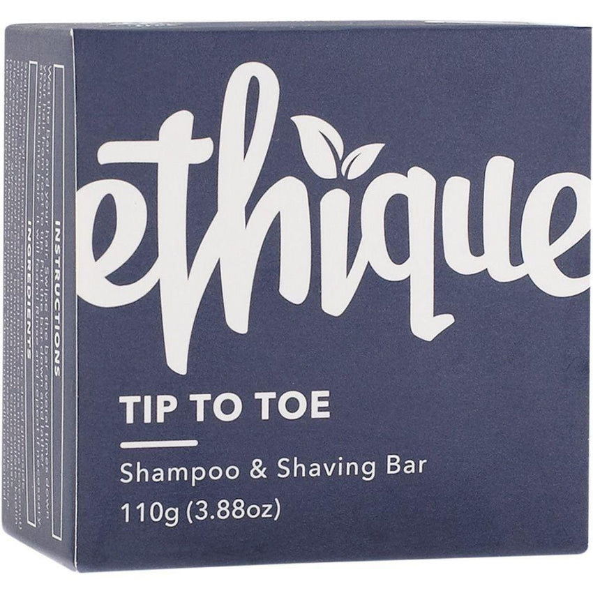 Ethique Solid Shampoo & Shaving Bar Tip-to-Toe 110g - The Vegan Town