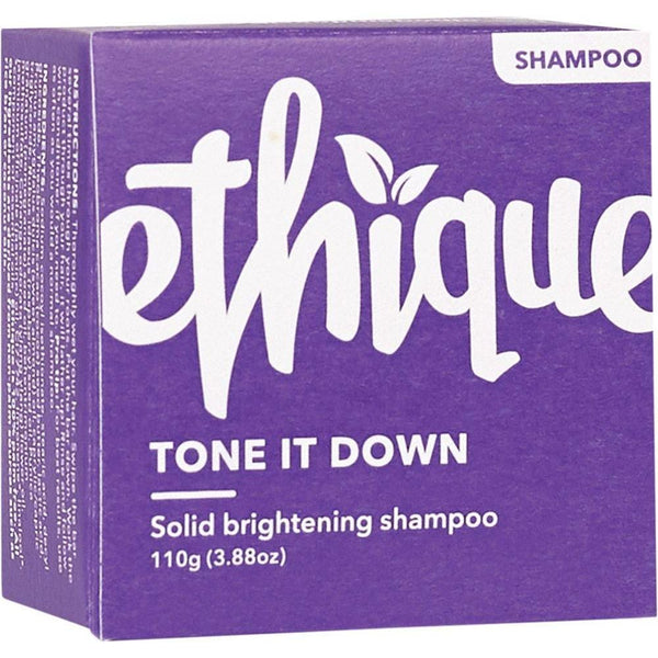 Ethique Solid Shampoo Bar Tone It Down - Purple 110g - The Vegan Town
