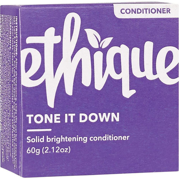 Ethique Solid Conditioner Bar Tone It Down - Purple 60g - The Vegan Town
