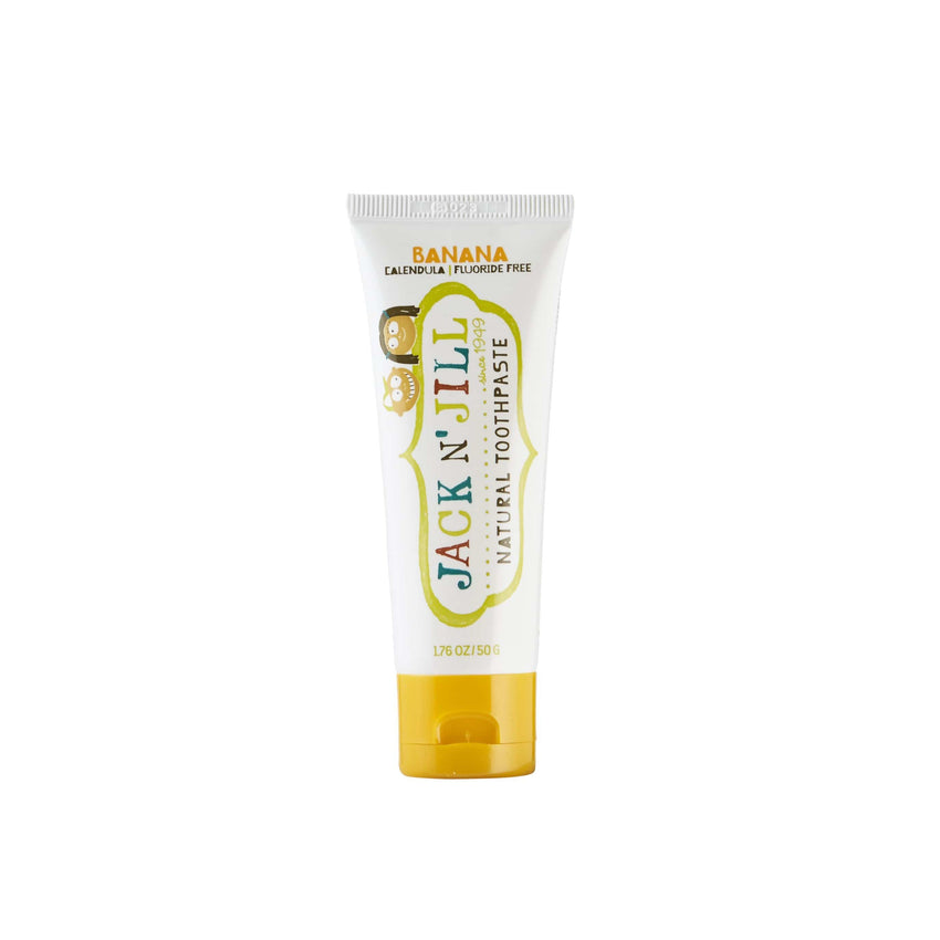 Jack N' Jill 50g Banana Natural Toothpaste - The Vegan Town