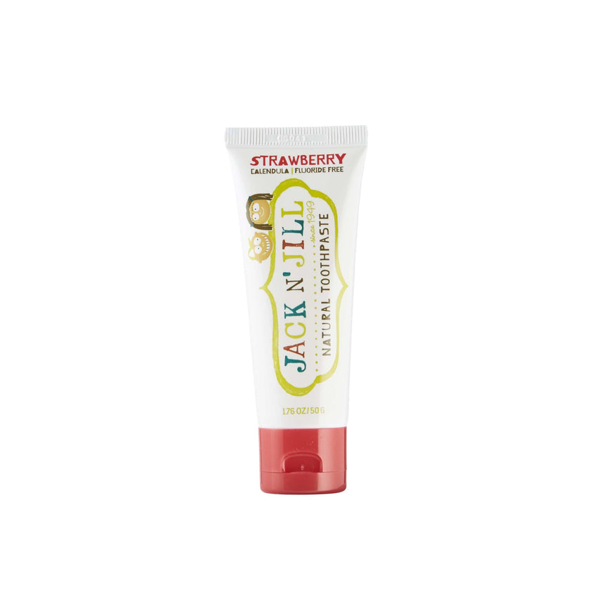Jack N' Jill 50g Strawberry Natural Toothpaste