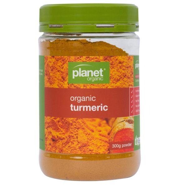 Planet Organic Organic Turmeric Jar 300g - The Vegan Town