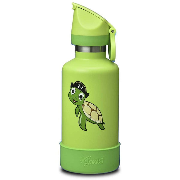 Cheeki 400ml Insulated Kids Bottle Taj the Turtle | Eco Products Online