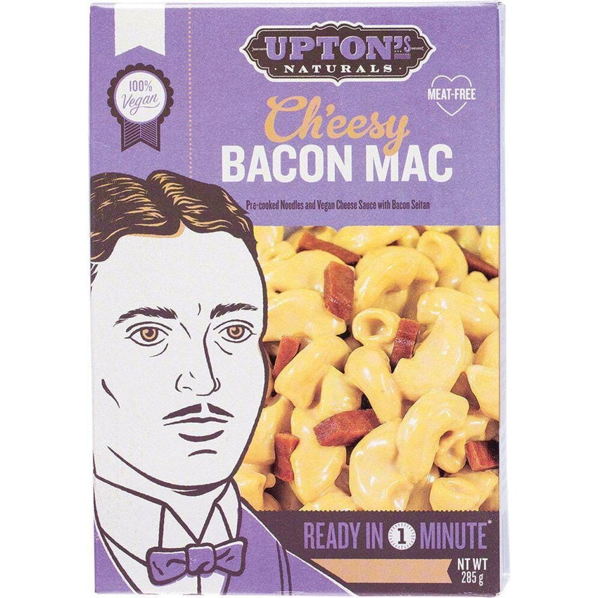 Upton's Naturals Real Meal Kit Ch'eesy Bacon Mac 285g - The Vegan Town