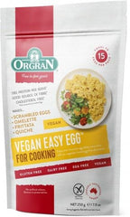 Orgran Vegan Easy Egg Gluten Free 250g Single Pack | Vegan Food Online | Online Vegan Store