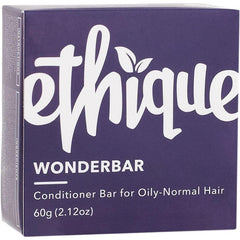 Ethique Solid Conditioner Bar Wonderbar - Oily Or Normal 60g - The Vegan Town