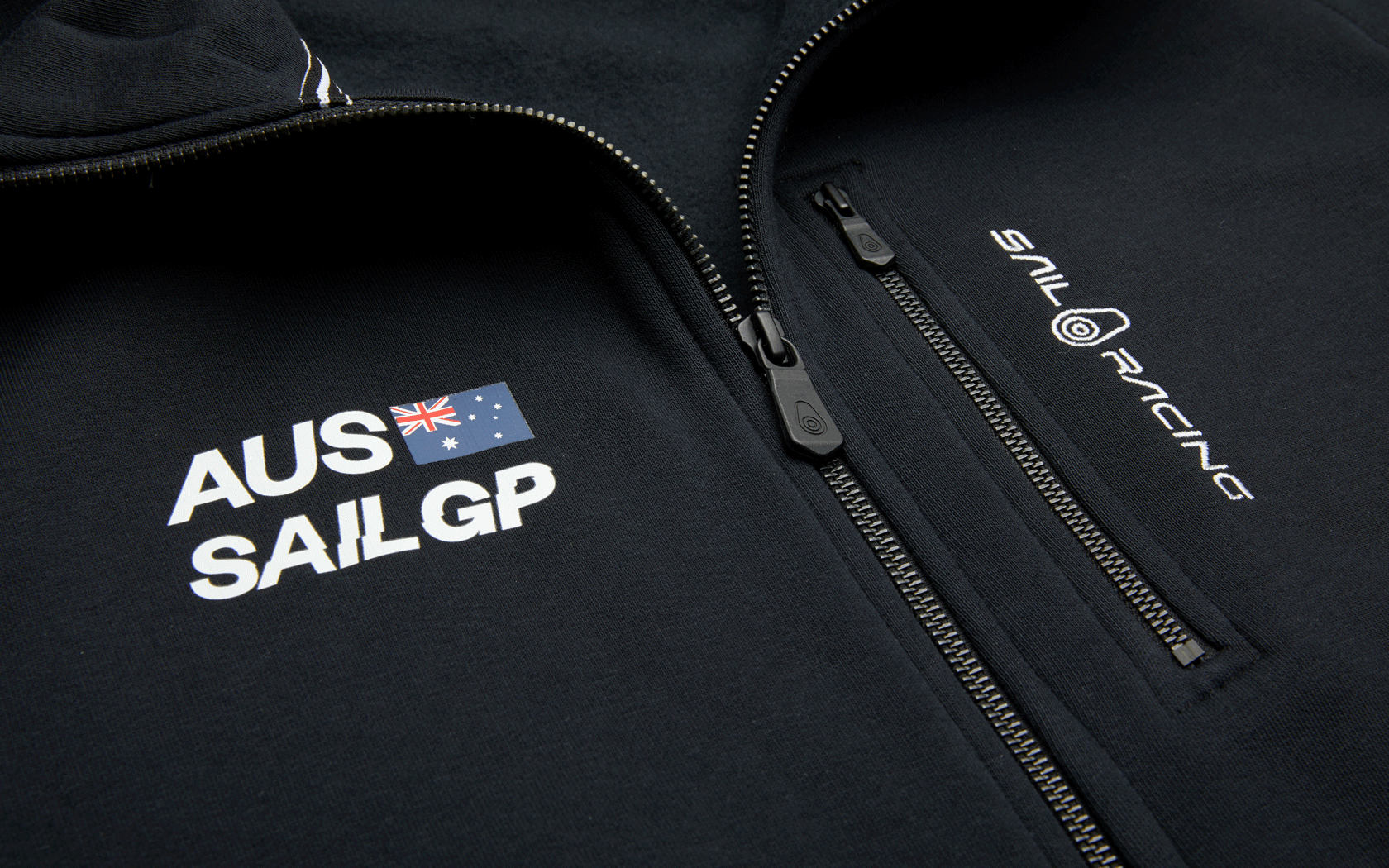 Load image into Gallery viewer, AUSTRALIA SAILGP ZIP HOOD