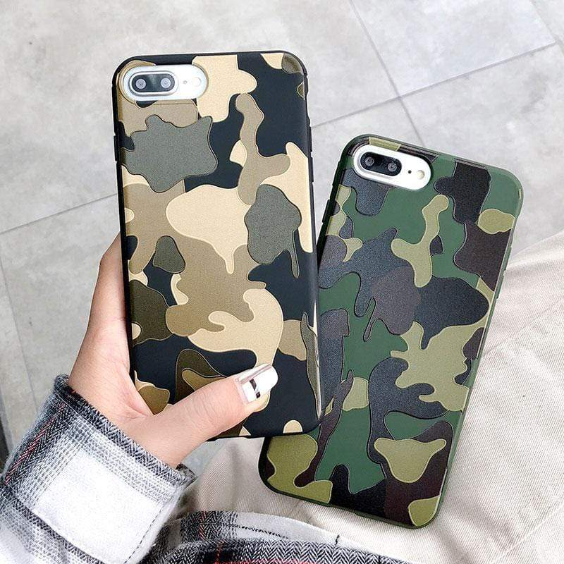 iPhone Case Best iPhoneXS Max Army Camo Tatic Camouflage Case Heavy Duty Shockproo