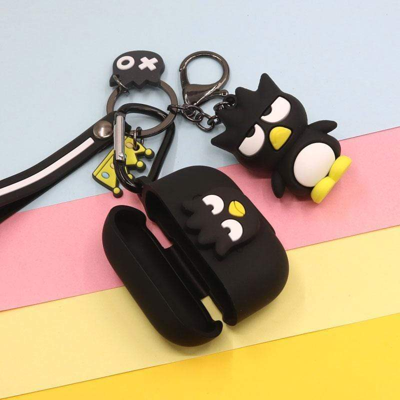 AirPods Pro Case Best Luxury Style Cartoon Penguin Pendant Silicone Case For Apple Airpods Pro