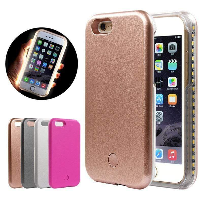 iPhone Case Best Selfie Glowing Light Silicone Shockproof Designer iPhone Case