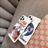 iPhone 11 Bugs Bunny Style Silicone Shockproof Protective Designer iPhone Case For iPhone 11 Pro Max X XS Max XR 7 8 Plus