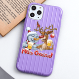 Iphone 11 Cartoon Merry Christmas Candy Color Soft TPU Phone Cases For iPhone X XS 11 Pro Max XR 6 6S 7 8 Plus Case Trunk Style Back Cover