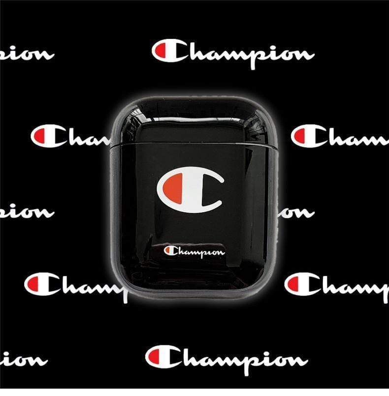 AirPods Case Champion Style Street Fashion Classic Logo Protective AirPods 1 2 Case