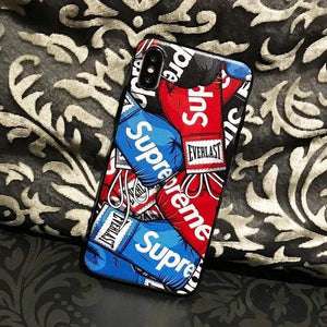 Iphone 11 Fashion Supreme Style Boxing Gloves Designer iPhone Case For Iphone 11 Pro Max X XS XS MAX XR 7 8 Plus