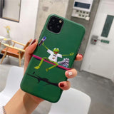 Iphone 11 Fashion Supreme Style Komi Sad Frog Soft Glue Designer iPhone Case For Iphone 11 Pro Max X XS XS MAX XR 7 8 Plus