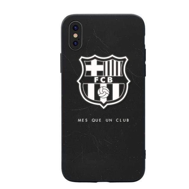 iPhone Case Football Clup FC Barcelona FCB MESSI Style Soft TPU Bumper Case for iP