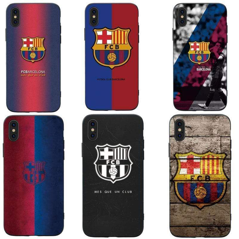 iPhone Case Football Clup FC Barcelona FCB MESSI Style Soft TPU Protective Case fo
