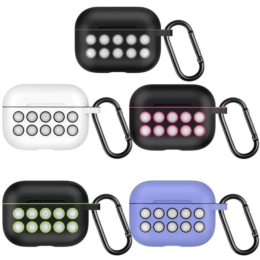 AirPods Pro Case For AirPods Pro Silicone Case 2019 Shockproof Bluetooth Headphones Protective Cover For Air Pods Pro