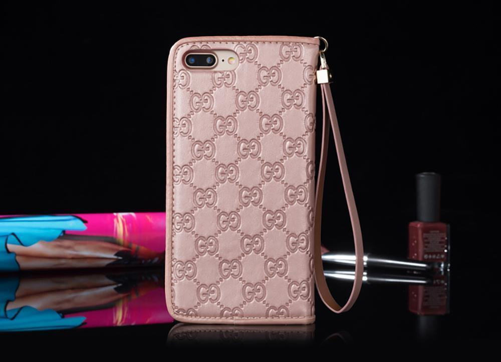 iPhone Case Gucci Style GG Marmont Leather Magnetic Wallet Designer iPhone Case For iPhone X XS XS Max XR 7 8 Plus