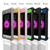 iPhone Case Heavy Duty 360 Full Protection Shockproof Doom armor PC+Soft TPU Phone