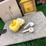 AirPods Case Hello Kitty Bear Duck Rabbit Stitch Doraemon Silicone AirPods Case