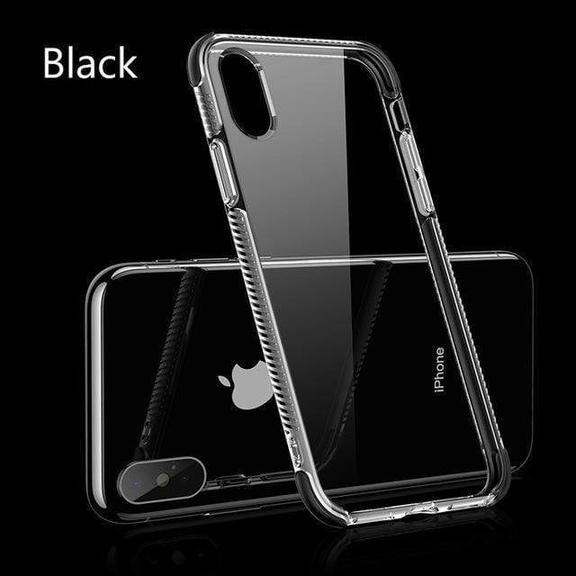 iPhone Case Hybrid Airbag Corners ShockProof Crystal Clear Case for iphone XS MAX
