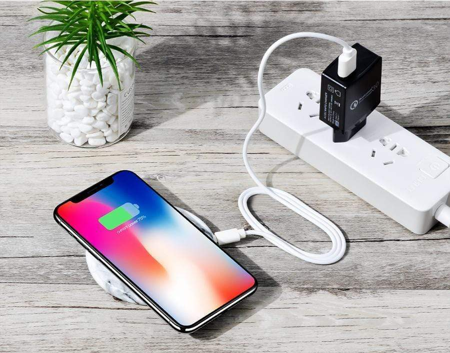 Wireless Instagram Mini Portable Marble iPhone Wireless Charger