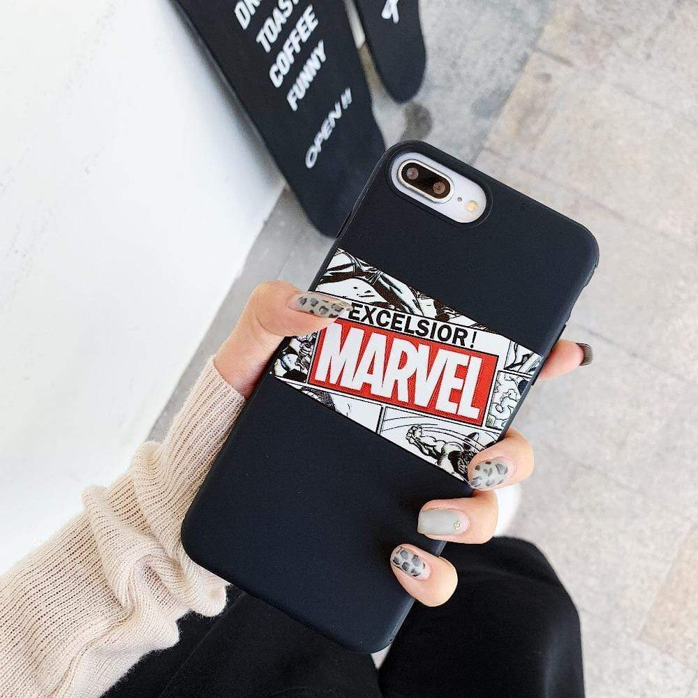 Matte Marvel Cartoon Superheroes Avengers Soft Silicone iPhone Case - Mixi Iphone Case