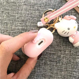 Melody Hello Kitty Silicone Protective AirPods 1 & 2 Case - Mixi Iphone Case