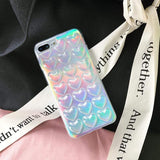 Metalic Bumpy 3D Heart Shiny Silicone Protective Airbag iPhone Case - Mixi Iphone Case