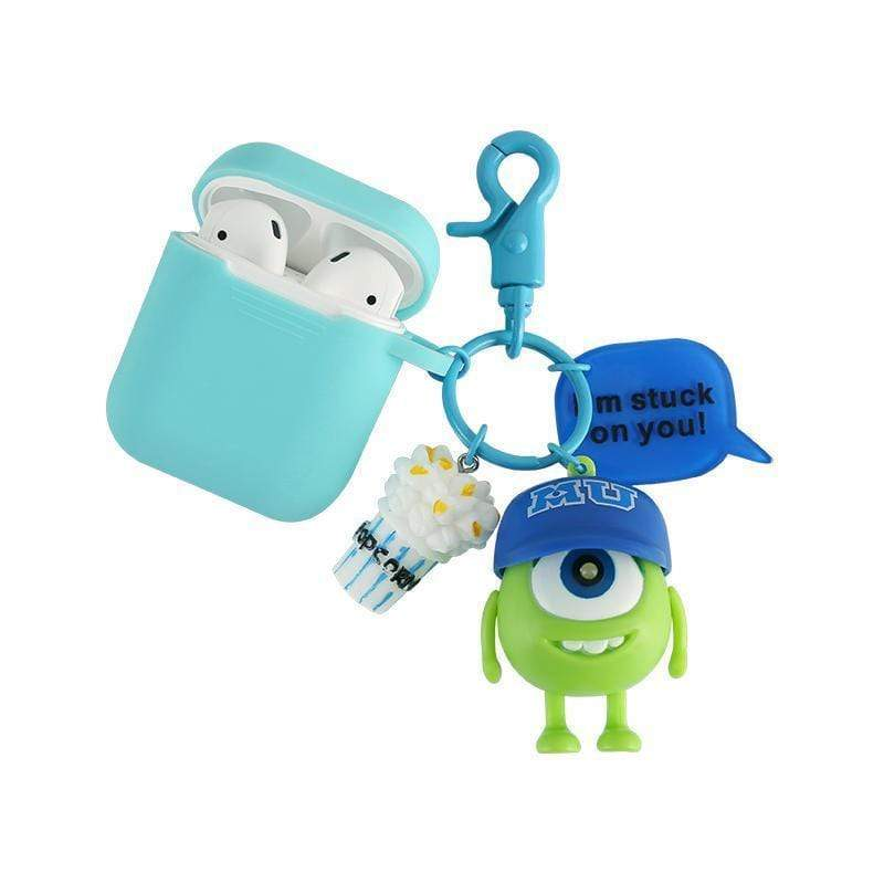 Monsters University Silicone Protective AirPods 1 & 2 Case - Mixi Iphone Case